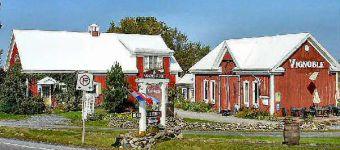 Vignoble/Winery Les Blancs Coteaux - Canton de l'Est - Eastern Townships - Quebec, Canada