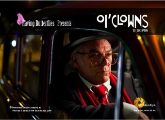 Hans Dagelet as Federico Fellini in Oi'Clowns