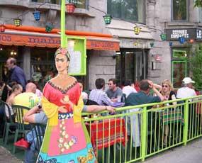 Frida Kahlo voor La Mañana, Montréal, Quebec, Canada