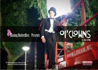 Daniël Boissevain as Marcello Mastroianni as Mandraka The Magician in Oi'Clowns