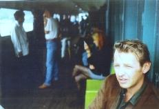 Max Hoven op de pont foto via Hans van Haastere