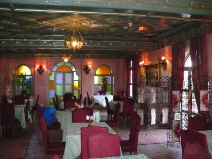 Interieur Marokkaans restaurant