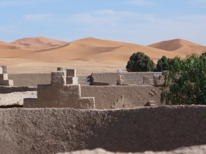 Kantelen voor de woestijn, Marokko