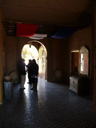 Lobby van kashbah hotel Tombouctou
