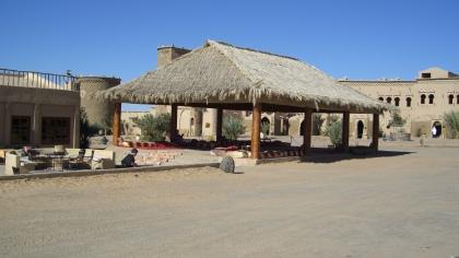 Leesplek pal aan de woestijn