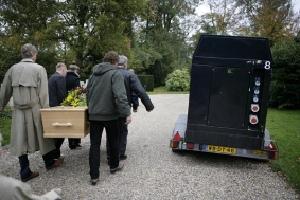 Begrafenis Tocht Max Hoven fotograaf Elmer van der Marel