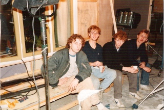 Jochies in de film: Lex Werwijn, Frank van Hekken, Mr. X & Max Hoven