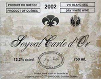 Seyval Crte D'Or - Domaine des Cotes d'Ardoise