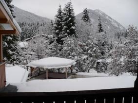 Sneeuwlandschap in de Beierse Bergen