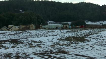 Sneeuw Nomaden in Marokko