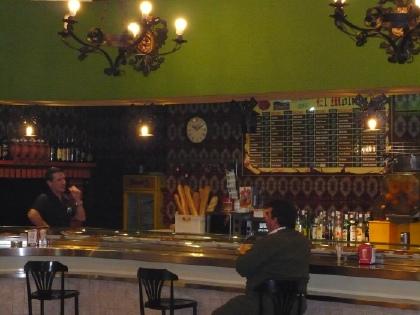 Tapas Bar El Venta in La Mancha, Land van Don Quijote