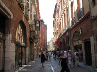 Straatbeeld Toulouse