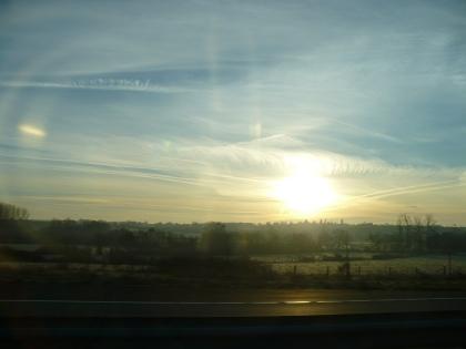 Val de Loire: Zonsopgang 14 / Sunrise 14