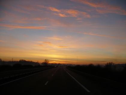 Val de Loire: Zonsopgang 1 / Sunrise 1