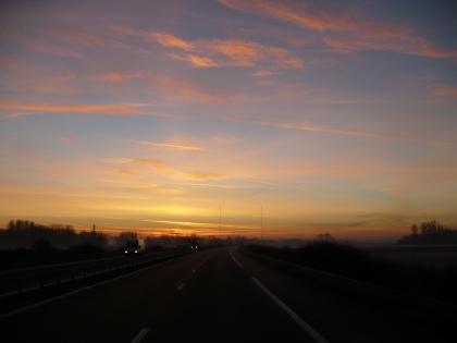 Val de Loire: Zonsopgang 2 / Sunrise 2