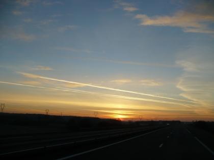 Val de Loire: Zonsopgang 4 / Sunrise 4
