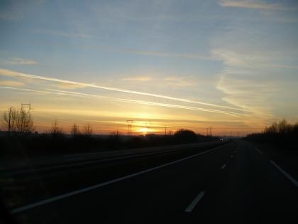 Val de Loire: Zonsopgang 5 / Sunrise 5